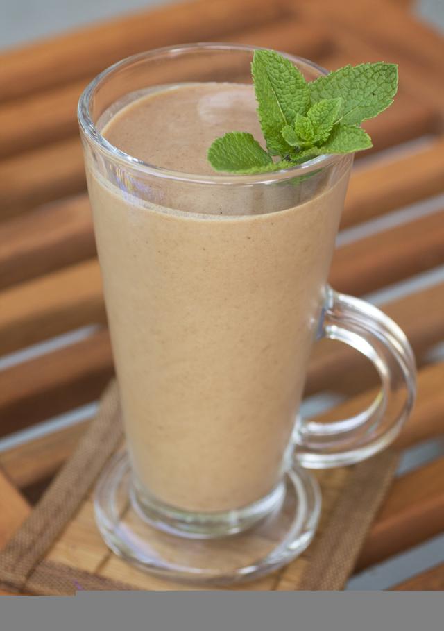 The ultimate chocolate shake