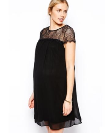 Maternity swing dress