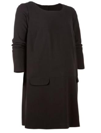 A-line long sleeved dress