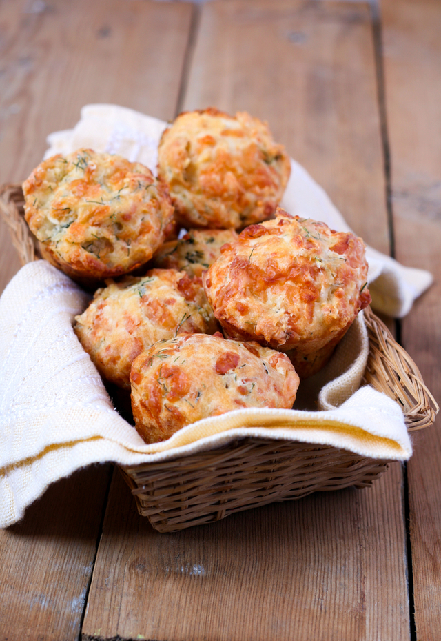 Cottage cheese muffins