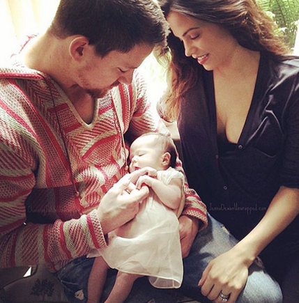 Channing and Everly May Tatum