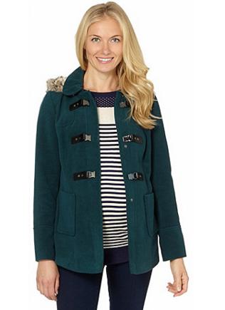 Maternity duffle coat