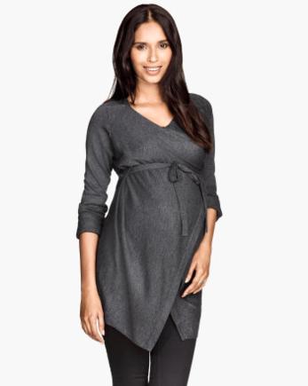 MAMA fine-knit cardigan