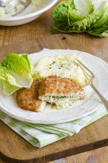 Homemade chicken Kiev's