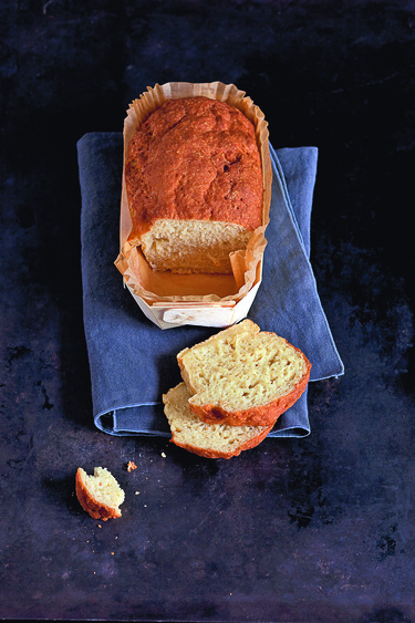 Chickpea-buckwheat bread