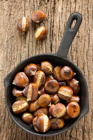 Roast chestnuts
