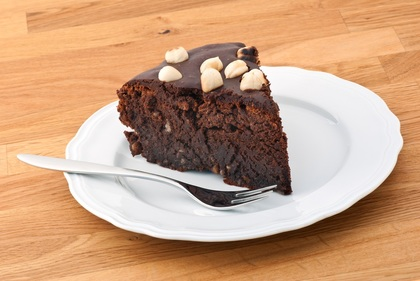 Gluten-free nutella cake