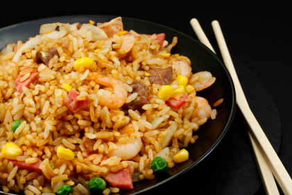 Singapore fried rice