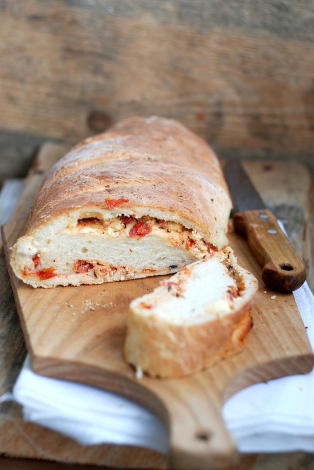 Gluten-free sun dried tomato loaf