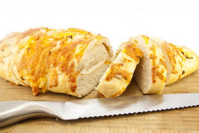 Savoury gluten-free bread
