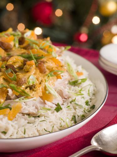 Christmas turkey curry