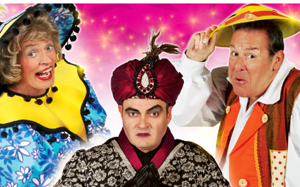 Aladdin at the Kings Theatre Edinburgh