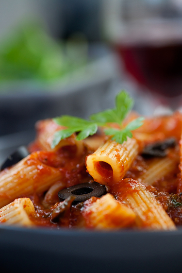 Squashed tomatoes with vegetables sauce