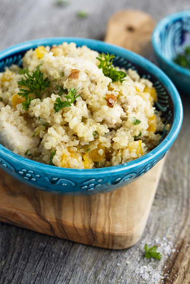 Cauliflower pilaf