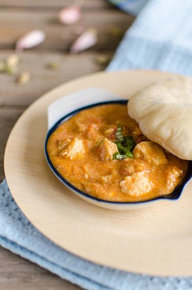 Creamy tandoori chicken