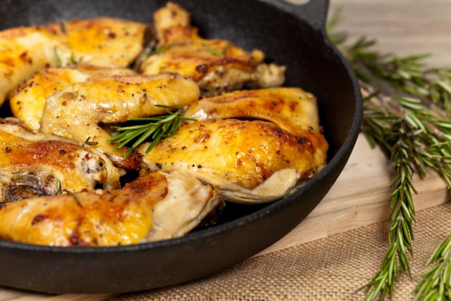 Rosemary garlic chicken