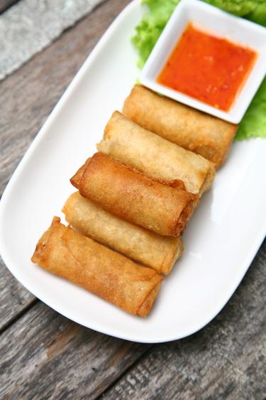 Asian pork rolls