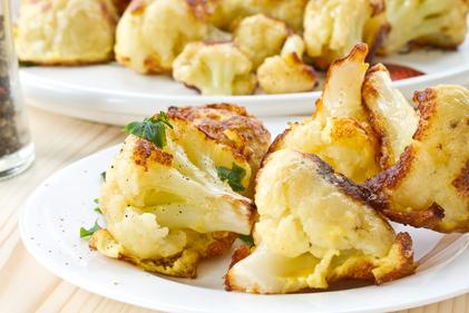 Crispy cauliflower tempura