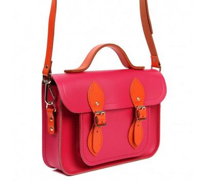 Cambridge Satchel Pink and Orange