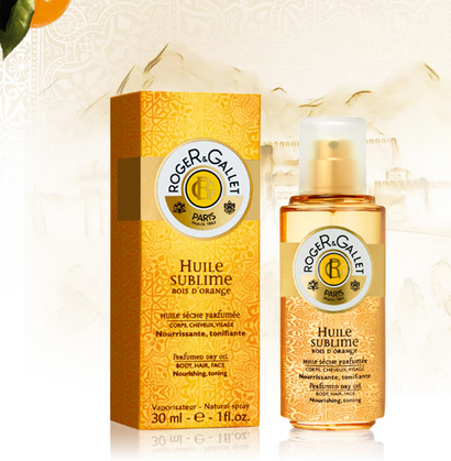 Roger & Gallet Huile Sublime Bois d'Orange