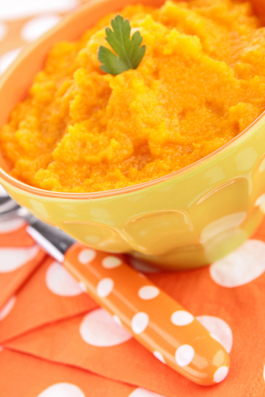 Parsnip and carrot mash