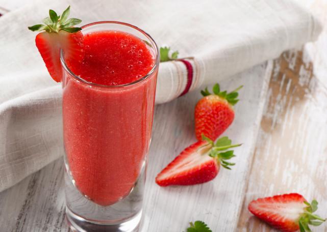 Strawberry burst smoothie