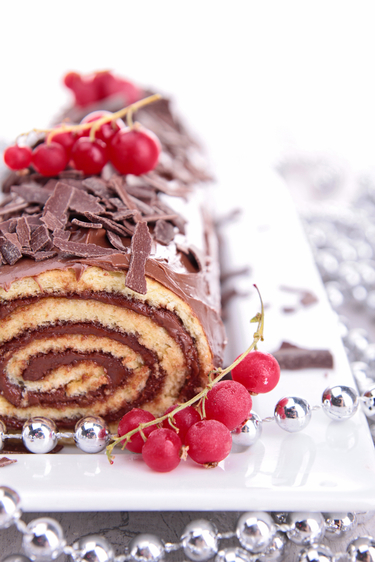 Seasonal yule log