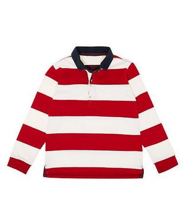 Howick Junior Boys Block Stripe Rugby Shirt