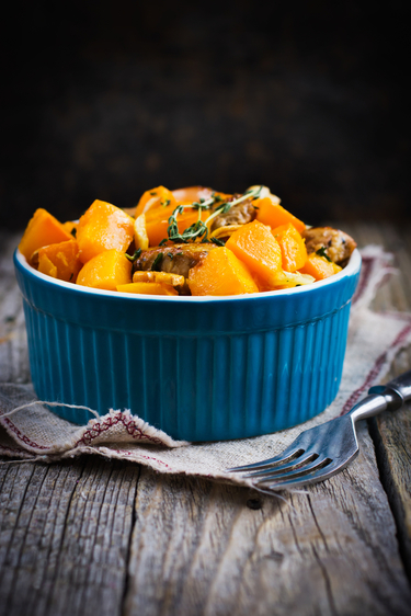 Spiced squash salad