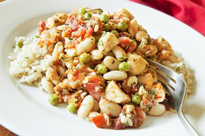 Chicken and cannellini beans