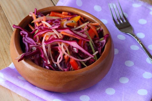 January detox salad