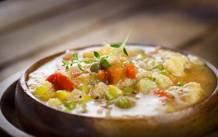 Chicken vegetable stew