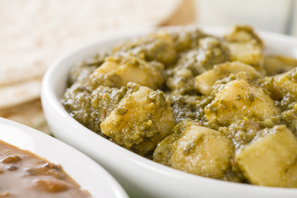 Slow cooker saag aloo