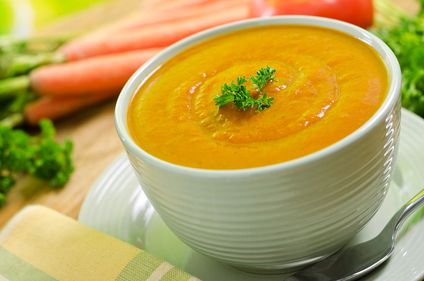 Batch carrot soup