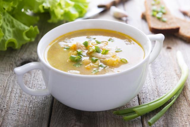 Easy, budget friendly batch chicken soup