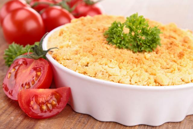 Vegetarian crumble