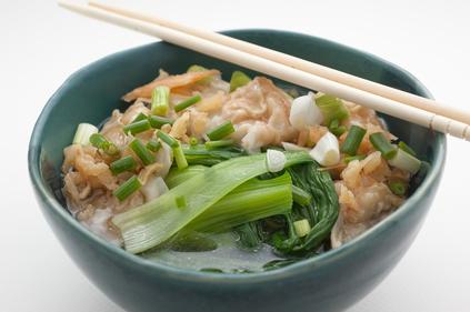 Chinese dan dan style noodles
