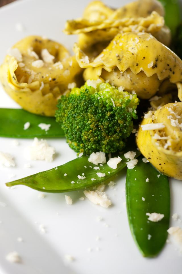 Mixed vegetable tortellini