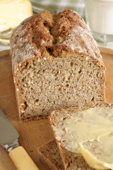 Irish Brown bread eggless bread