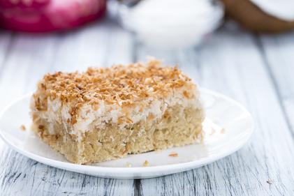 Coconut tart