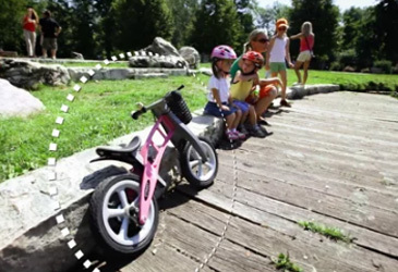 Top tips for teaching your little one to ride a bike