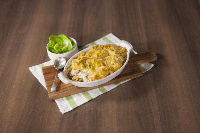 Jus-Rol Filo Topped Fish Pie