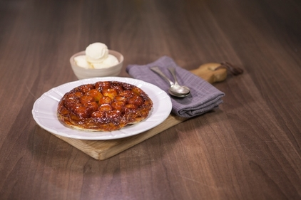 Banana and Salted Caramel Tart Tatin