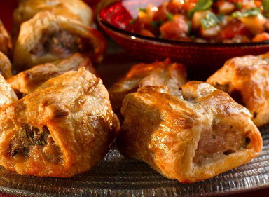 Slightly Spicy Sausage Rolls