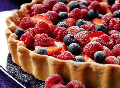 Summer Fruit and Orange Tart