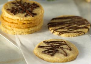 Almond Shortbread Wafers