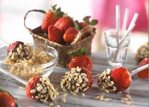 Dip 'n' Roll Strawberry Treats