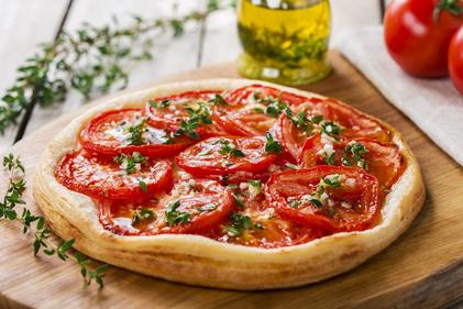 Tomato & thyme tarts