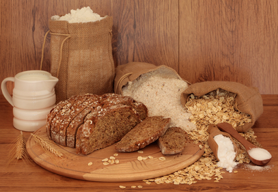 Soda bread with oats