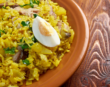 Tuna kedgeree